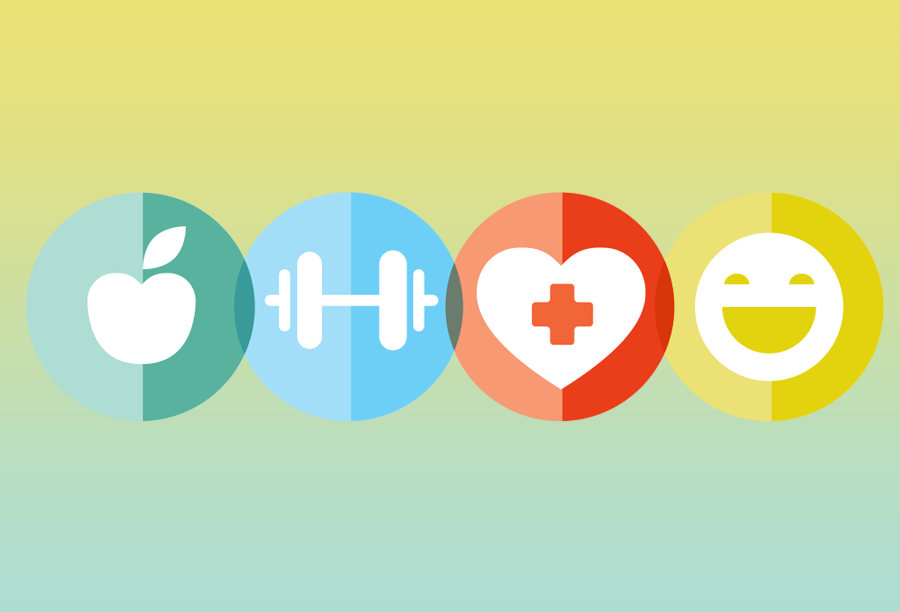 Healthy abstract graphic