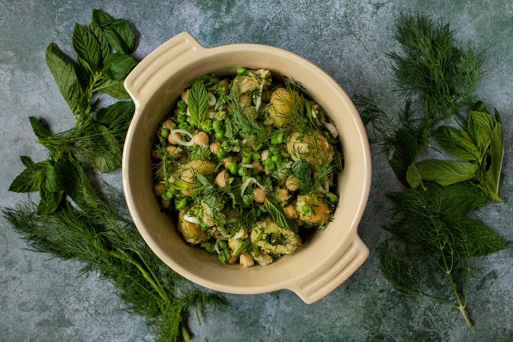 Potato and Greens Salad